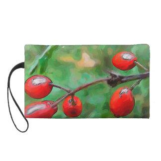Winter Berries Wristlet Clutches
