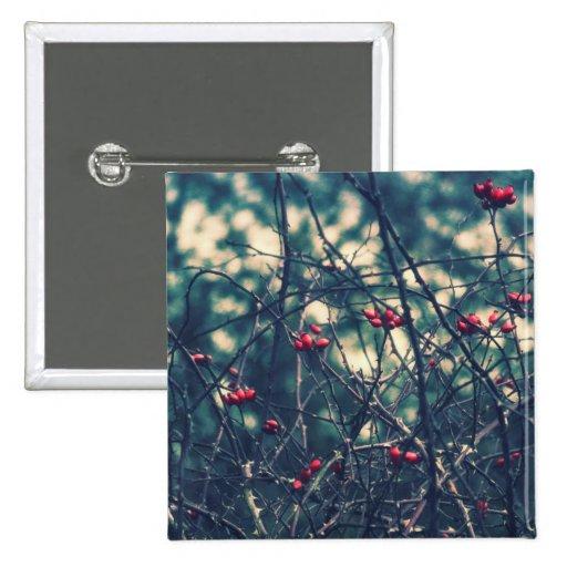 Winter Berries Pin