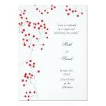 Winter Berries Invitation P White