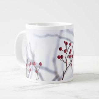 Winter Berries Large Coffee Mug