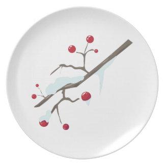 Winter Berries Dinner Plate