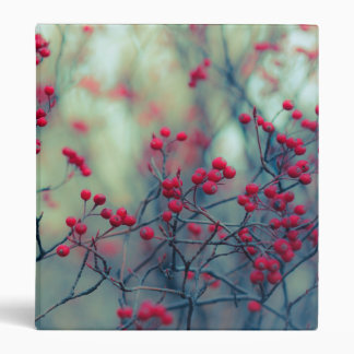 Winter Berries Three Ring Binder