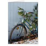 Winter Bicycle Christmas Card