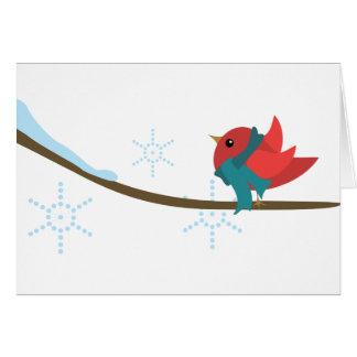 Winter Bird Cards
