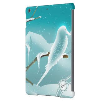 Winter Bird Christmas ipad Air Case