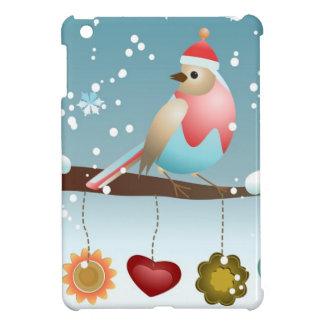 Winter Bird iPad Mini Covers