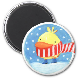 winter bird magnet