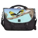 Winter Birds Bag Laptop Messenger Bag