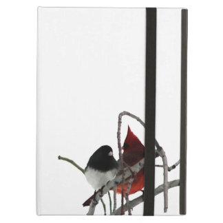 Winter Birds iPad Air Cover