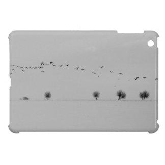 Winter birds iPad mini cases