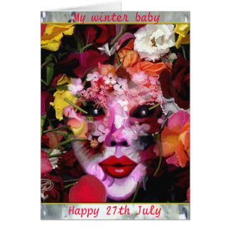 Winter birthday wishes greeting cards