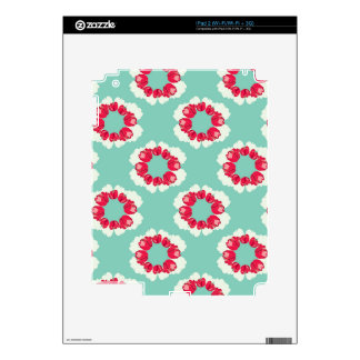 Winter Blooms iPad 2 Decal