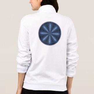 Winter Blossom Kaleidoscope Mandala Jacket