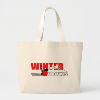 WINTER BLOWS CANVAS BAGS