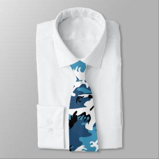 Winter Blue Camo Tie
