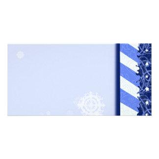 Winter Blue Card
