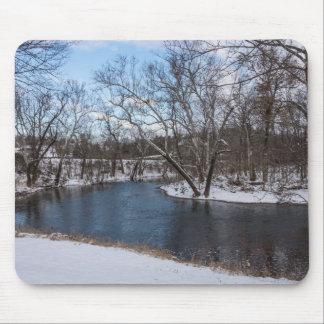 Winter Blue James River Mouse Pad