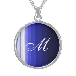 Winter Blues Sterling Silver Necklace