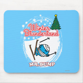 Winter Blunderland Mouse Pad
