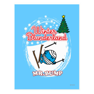 Winter Blunderland Postcard