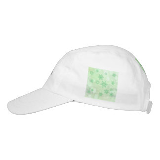 winter Bokeh green Headsweats Hat