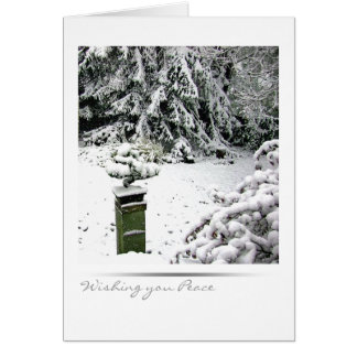 Winter Bonsai Card