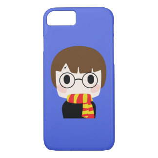Winter Boy with scarf fashion iPhone 8/7 Case