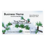 Winter Branch w/Snow - Winter Business Cards