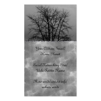 Winter Branches Business Card