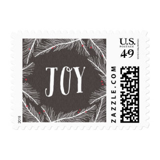 Winter Branches Christmas Holiday Postage