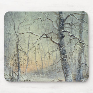 Winter Breakfast Mouse Pad