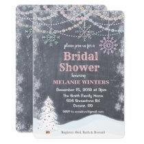 Winter Bridal Shower Invitation Invitation