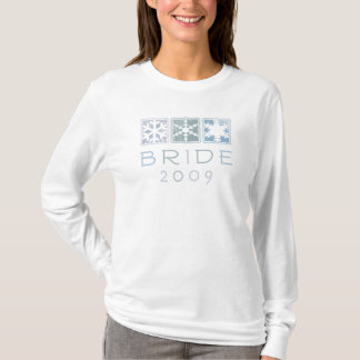Winter Bride 2009 Ladies Long Sleeve T-Shirt