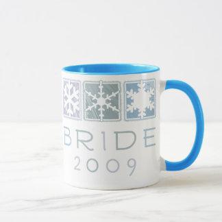 Winter Bride 2009 Ringer Mug