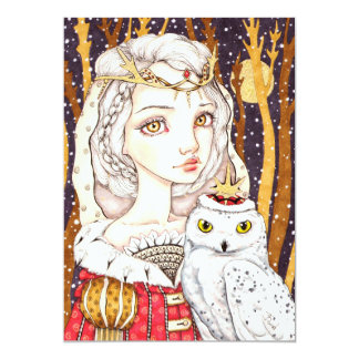 Winter Bride Card