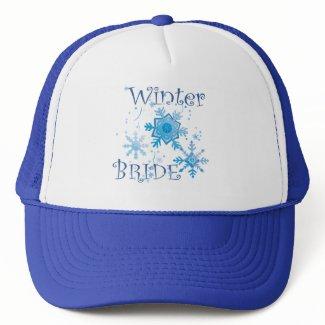 Winter Bride hat