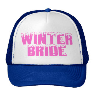 Winter Bride Hat