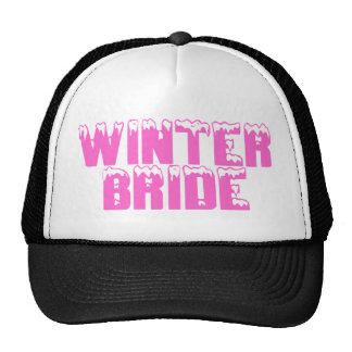 Winter Bride Hats