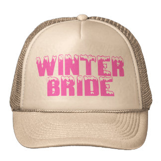 Winter Bride Trucker Hat