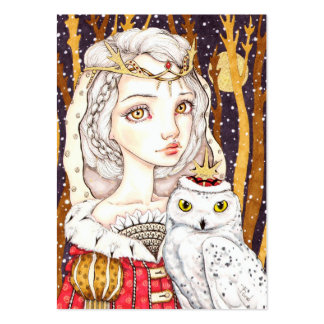 Winter Bride Large Business Card
