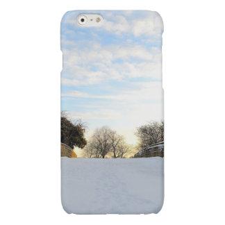 Winter Bridge Glossy iPhone 6 Case