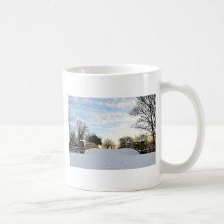 Winter Bridge Coffee Mug