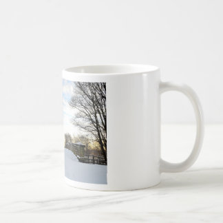 Winter Bridge Mugs