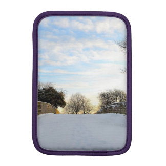Winter Bridge Sleeve For iPad Mini