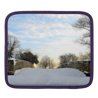 Winter Bridge Sleeve For iPads