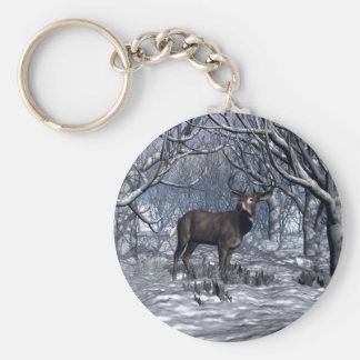 Winter Buck Keychains