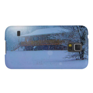 Winter Buildings Cases For Galaxy S5
