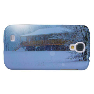 Winter Buildings Galaxy S4 Covers