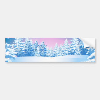 Winter Bumper Sticker