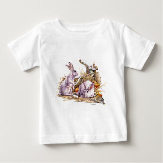 Winter Bunnies Baby T-Shirt